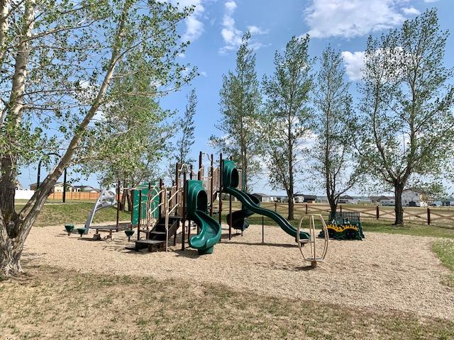 Legacy Park and Playground at Sunset Beach in Saskatchewan